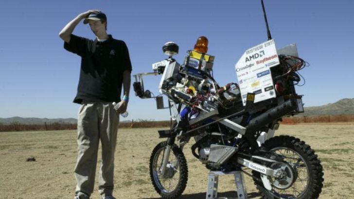Google работает над беспилотным мотоциклом