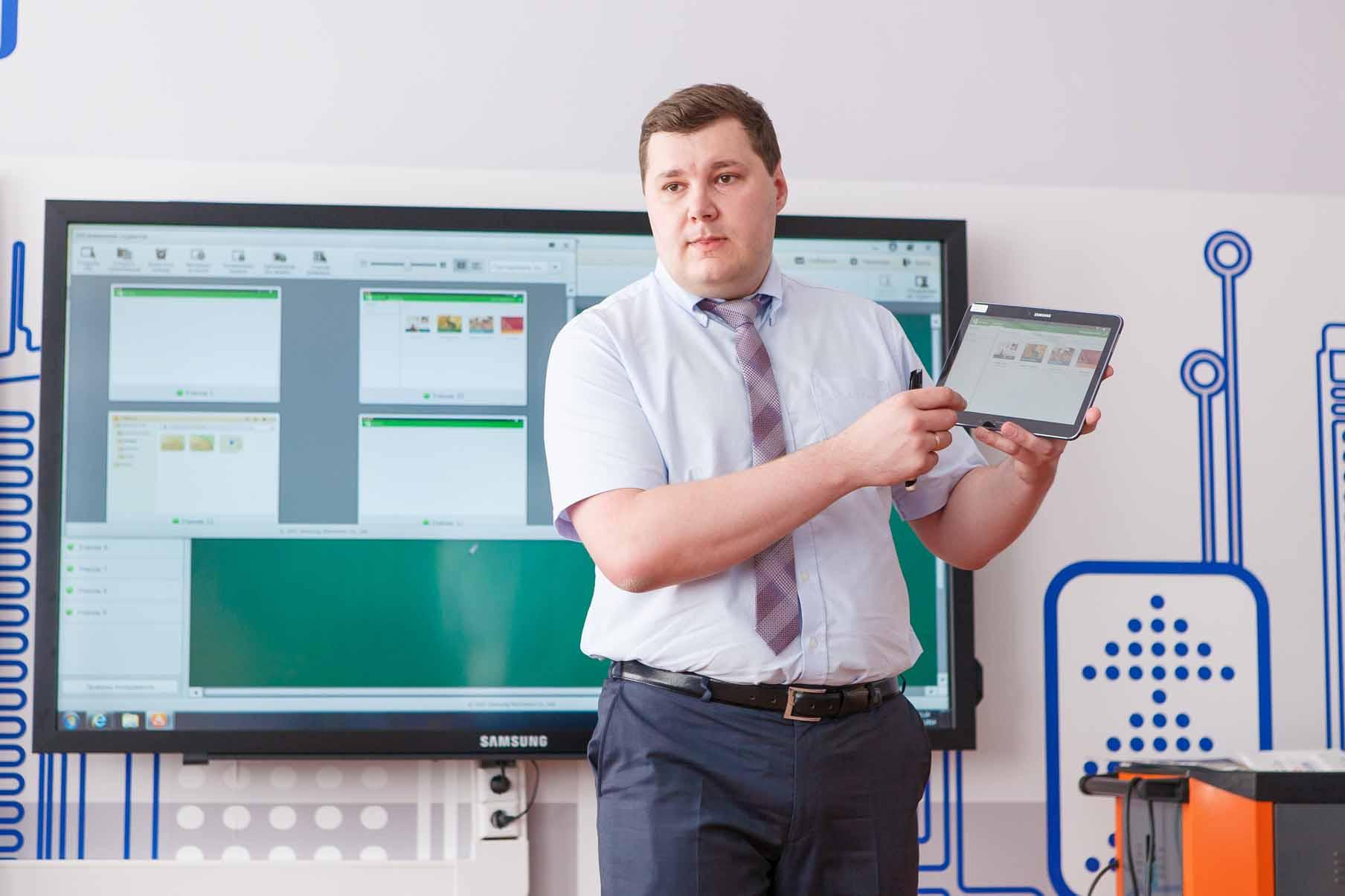 Samsung и Ростелеком совместно создали планшет для школ
