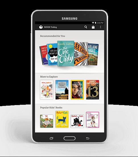Samsung и B&N анонсировали Galaxy Tab 4 Nook