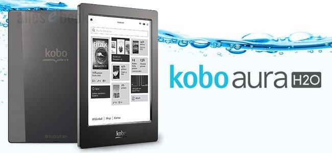 Водонепроницаемый букридер Kobo Aura H2O обойдется в $179