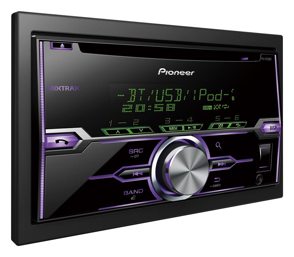 Pioneer представила новые автомобильные CD-ресиверы