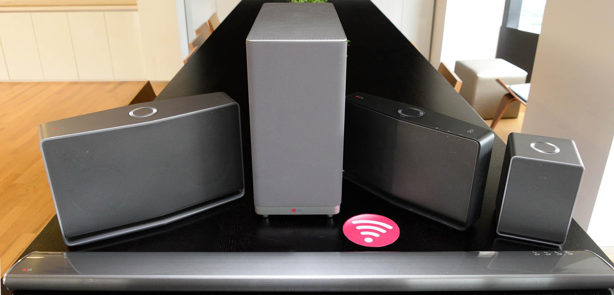 LG представила умную беспроводную Hi-Fi аудиолинейку Music Flow