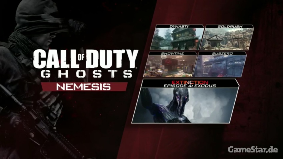 Финальное DLC-дополнение для Call of Duty: Ghosts для PC, PS4 и PS3 выйдет 4 сентября