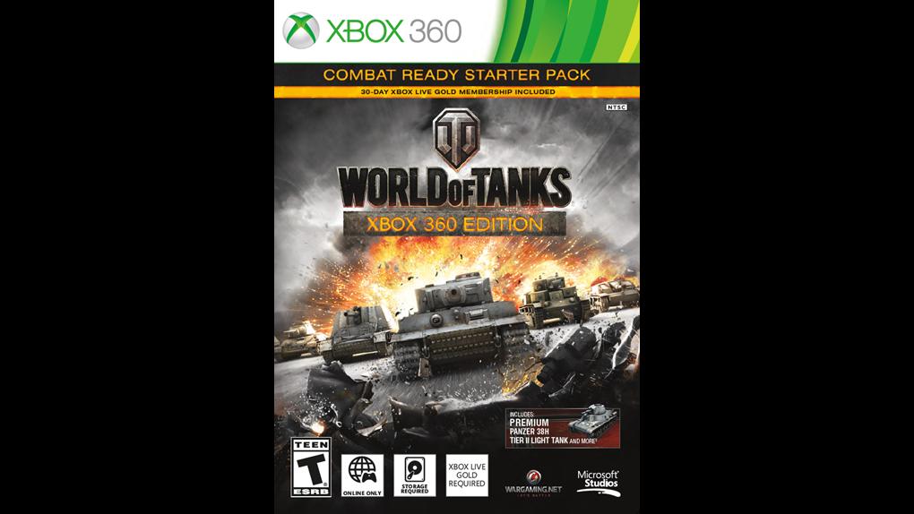 В России состоялся релиз розничной версии игры World of Tanks: Xbox 360 Edition