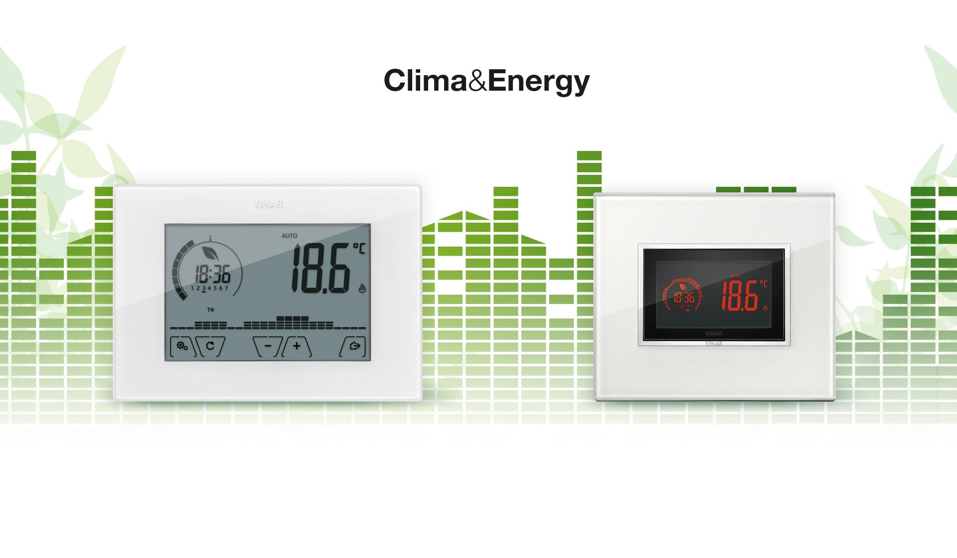 Vimar: комбинированная система контроля климата и энергии