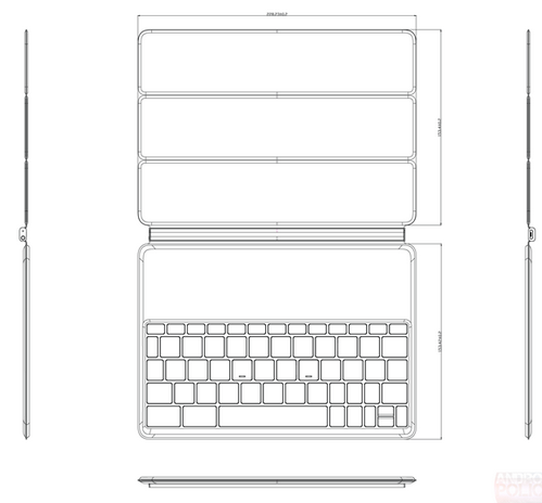 HTC готовит магнитный футляр-клавиатуру для планшета Nexus 9