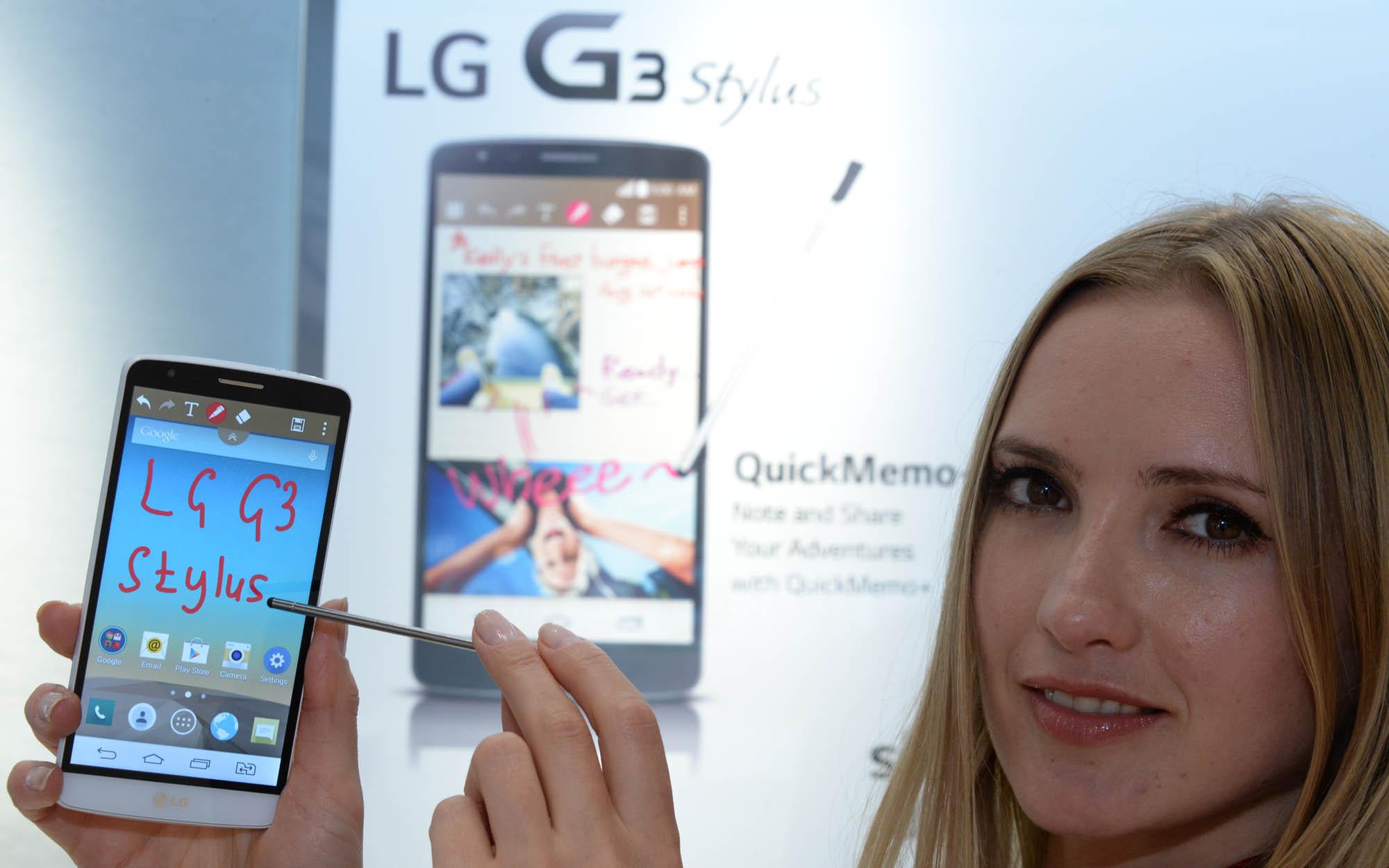 Смартфон LG G3 Stylus поступает в продажу