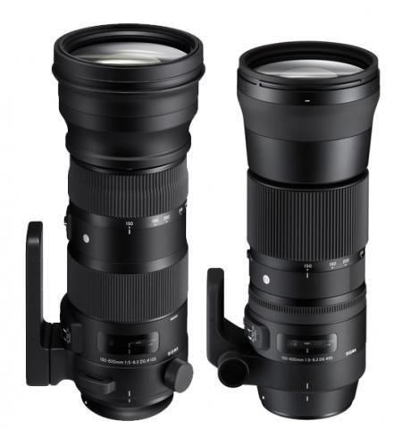 Photokina 2014: пара объективов-суперзумов Sigma с фокусным расстоянием 150-600 мм