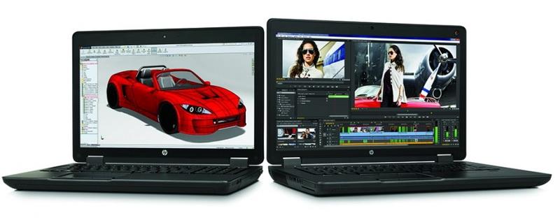 Мощные ноутбуки HP ZBook 15 G2 и 17 G2 подойдут для мультимедиа и проектирования