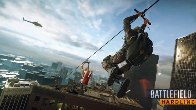 При запуске Battlefield Hardline будет доступно 7 режимов игры и 9 карт