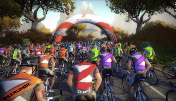 Zwift приступает к тестированию многопользовательского велосимулятора
