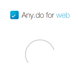 ���� ���: Any.do for web - ������ ToDo-��������