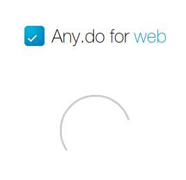 ���� ���: Any.do for web - ������ ToDo-��������