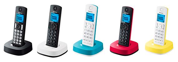 В продажу вышли яркие DECT-телефоны Panasonic с функцией «Радионяня»