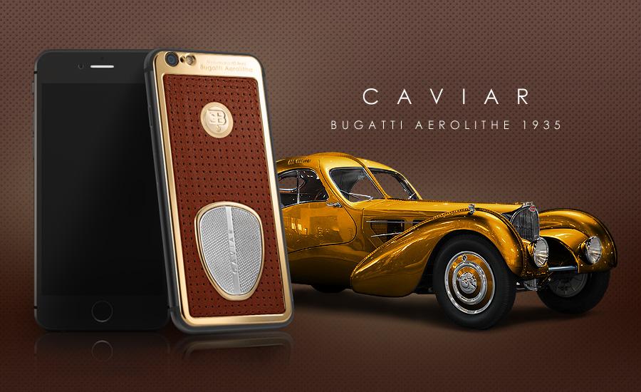 Драгоценная версия iPhone 6 посвящена автомобилям Bugatti