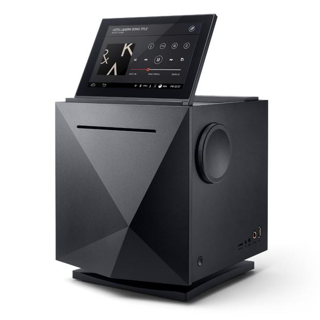 Сетевой аудиоплеер Astell&Kern AK500N управляется тачскрином