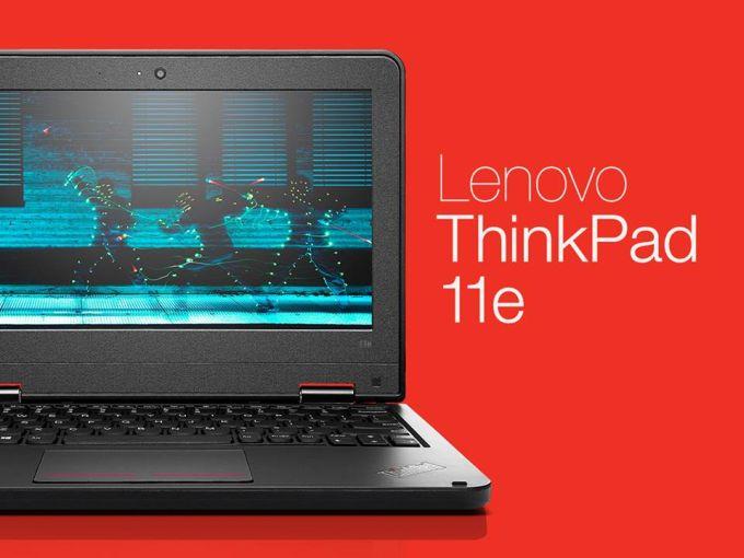 Ноутбуки Lenovo ThinkPad 11e получили новые чипы Intel Broadwell