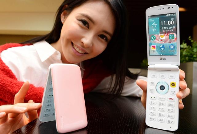 LG официально представила раскладной смартфон Ice Cream Smart