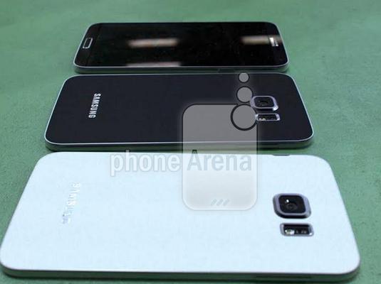 В сеть попало фото прототипов Samsung Galaxy S6
