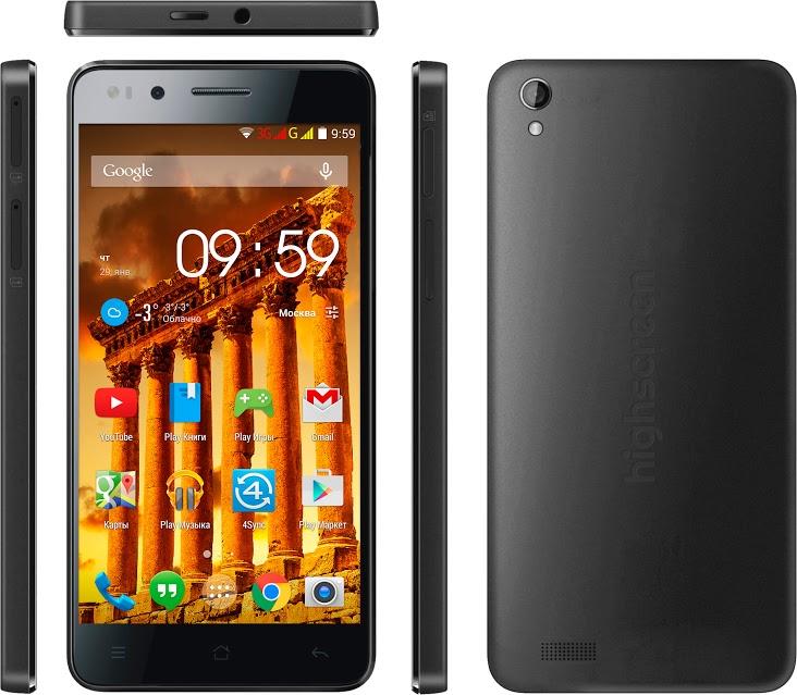 Продвинутый смартфон Highscreen Hercules вышел в продажу