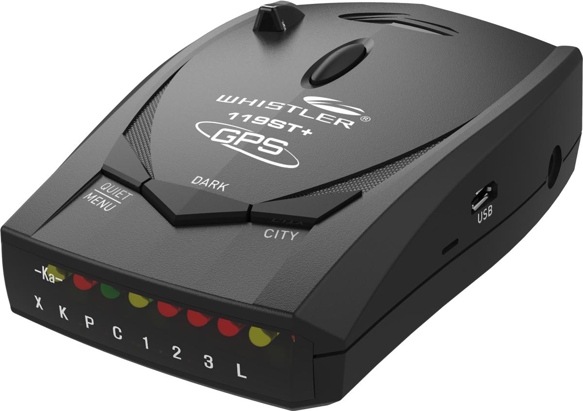 �����-�������� Whistler 119ST+ � GPS ������� � ������
