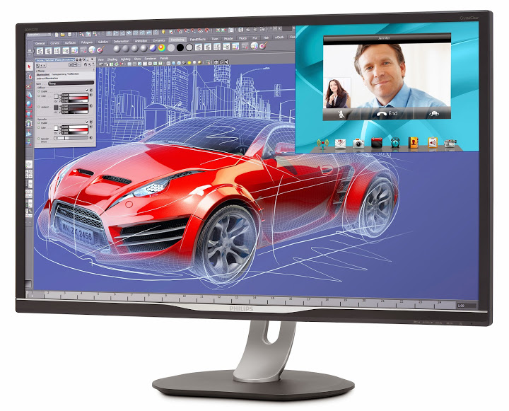 ������� Philips BDM3270QP �������� ���������� 32 ����� � ����������� Quad HD