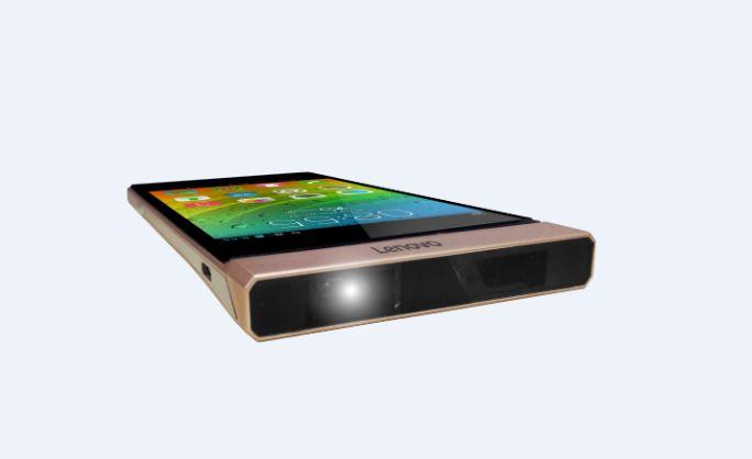 Смартфон Lenovo Smart Cast превратит поверхность в тачскрин