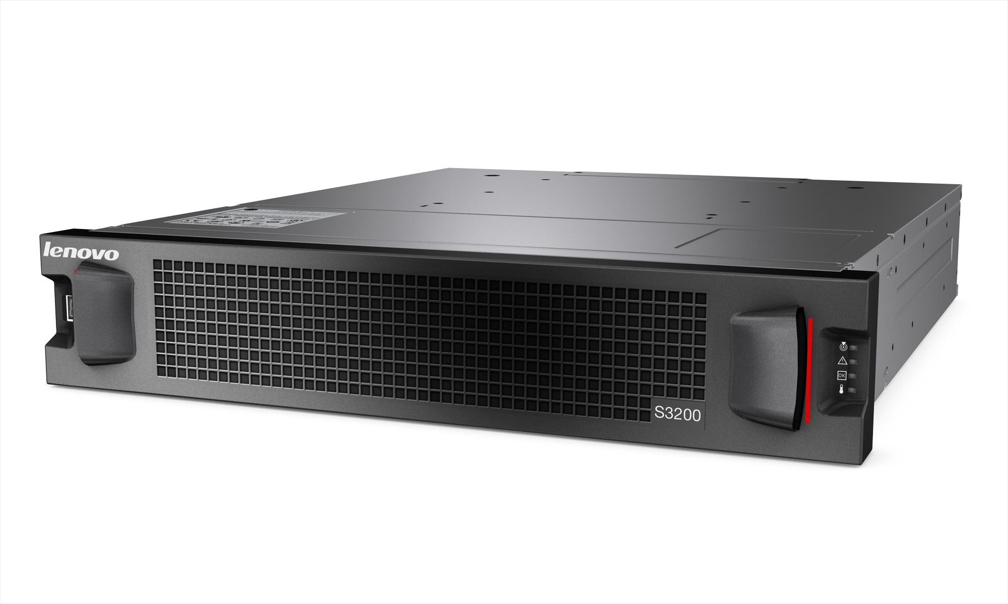 Lenovo представила SAN-массивы Storage S2200 и S3200