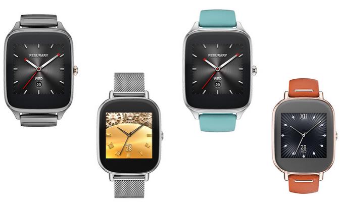 Computex 2015: Asus представила смарт-часы ZenWatch 2
