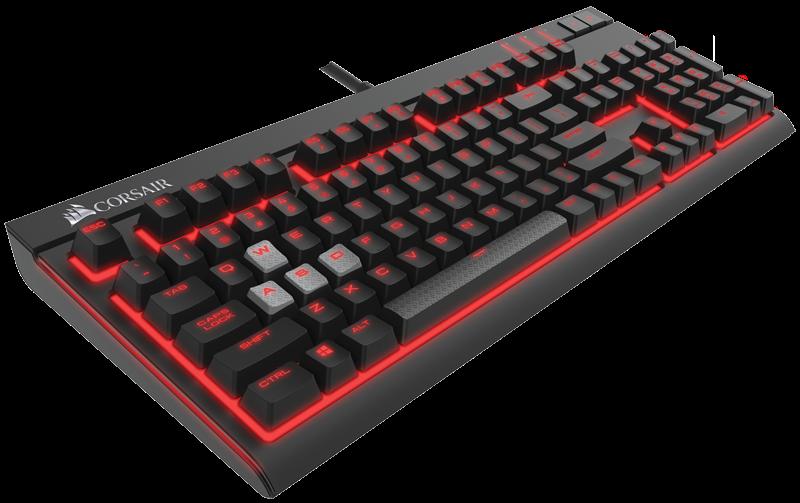 Computex 2015: Механическая клавиатура Corsair Strafe с настраиваемой подсветкой
