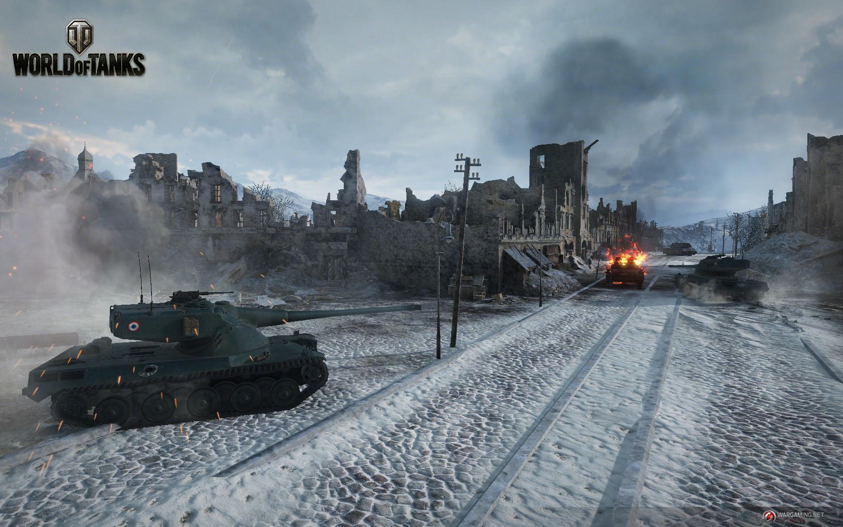 В World of Tanks приходят гаражные бои
