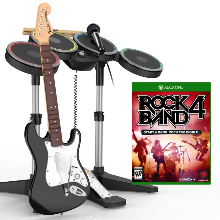 ������, ���������� ��������� � ��������� Mad Catz ��� ���� Rock Band 4