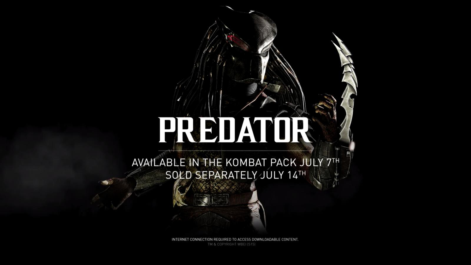 В Mortal Kombat X выходит Хищник