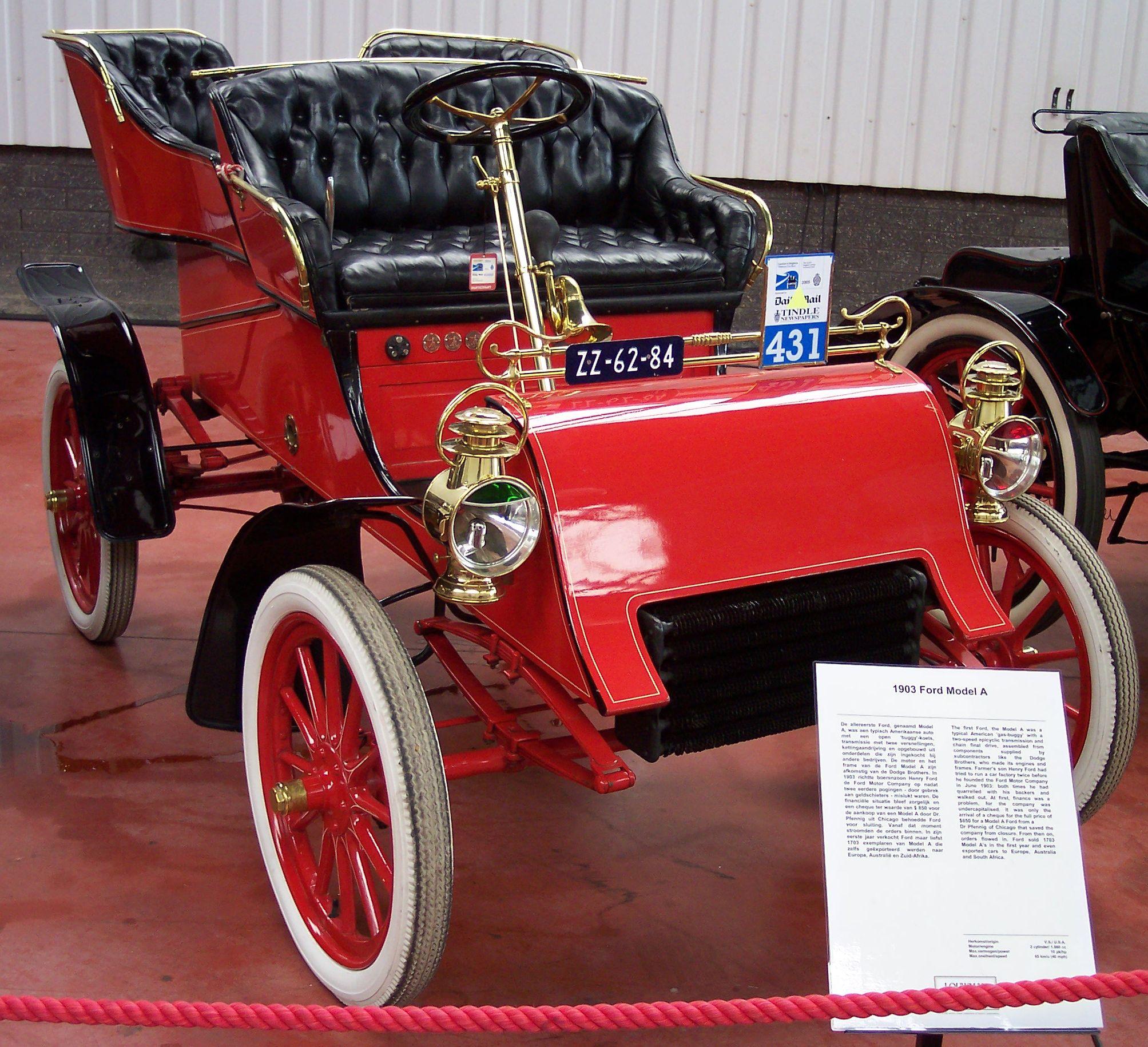 День, когда купили первый Ford