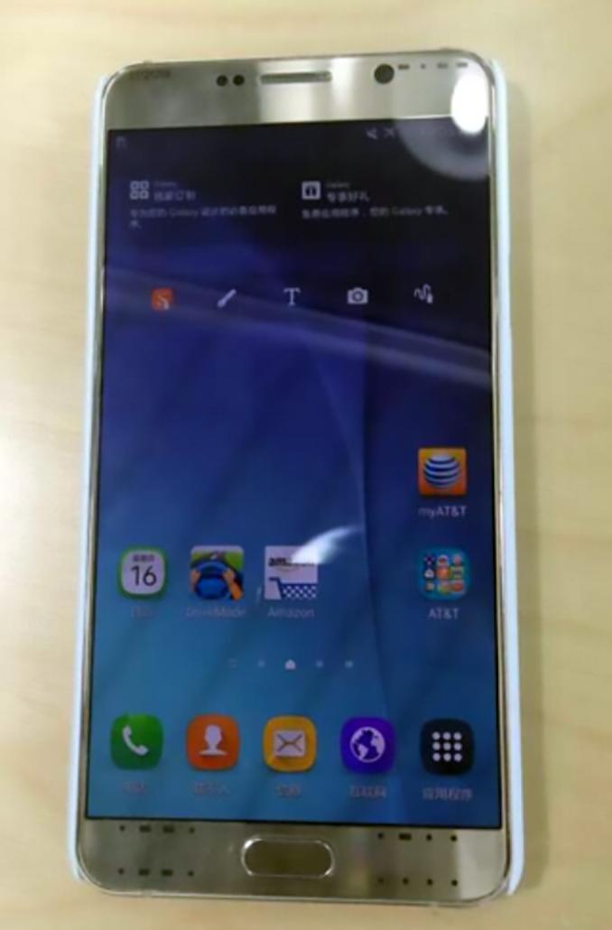 �������� Samsung Galaxy Note 5 ���������� �� ����� ����