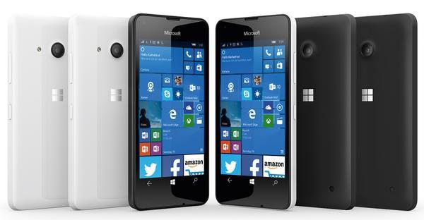 Смартфон Lumia 550 засветился на пресс-рендере