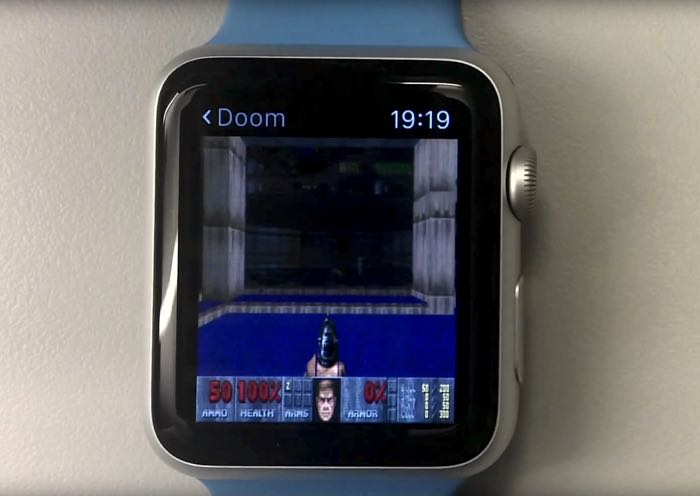 Doom запустили на Apple Watch и Apple TV
