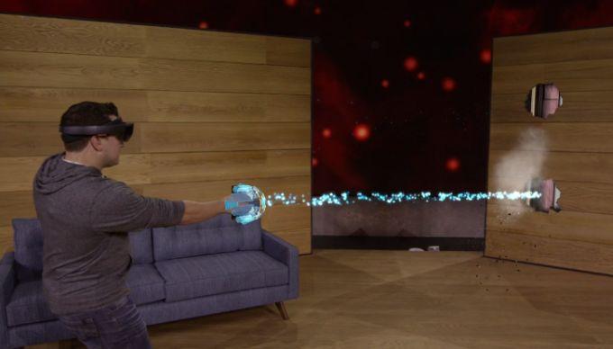 Очки дополненной реальности HoloLens для разработчиков появятся за $3000