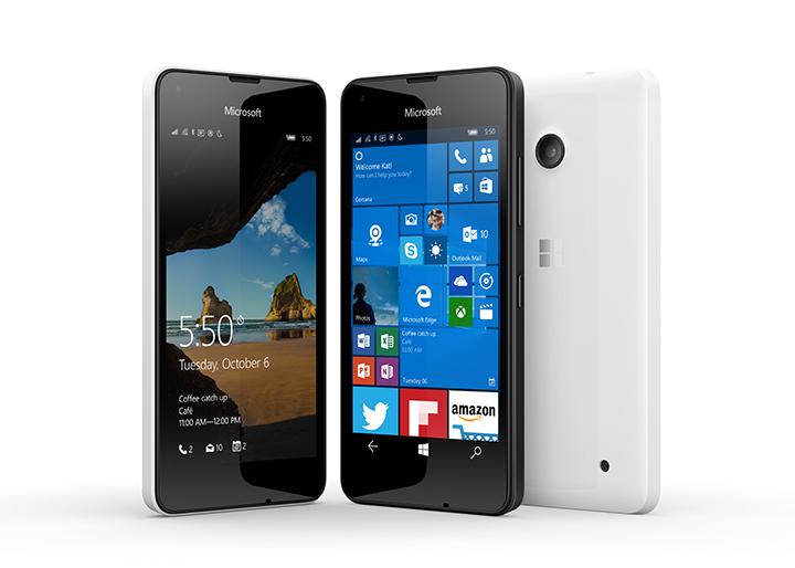 Бюджетный Microsoft Lumia 550 работает на Windows 10 Mobile
