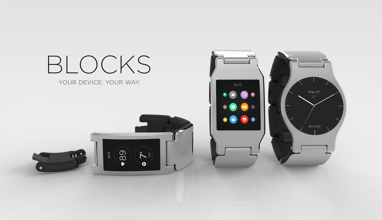 Модульные смарт-часы Blocks готовы к запуску на Kickstarter