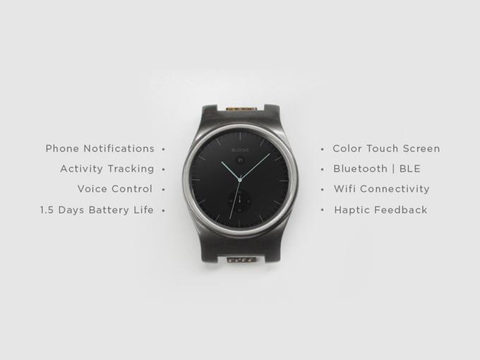 Модульные смарт-часы Blocks запущены на Kickstarter