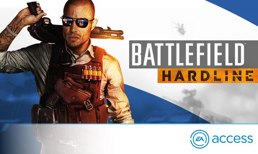 Игра Battlefield Hardline вышла в EA Access Vault