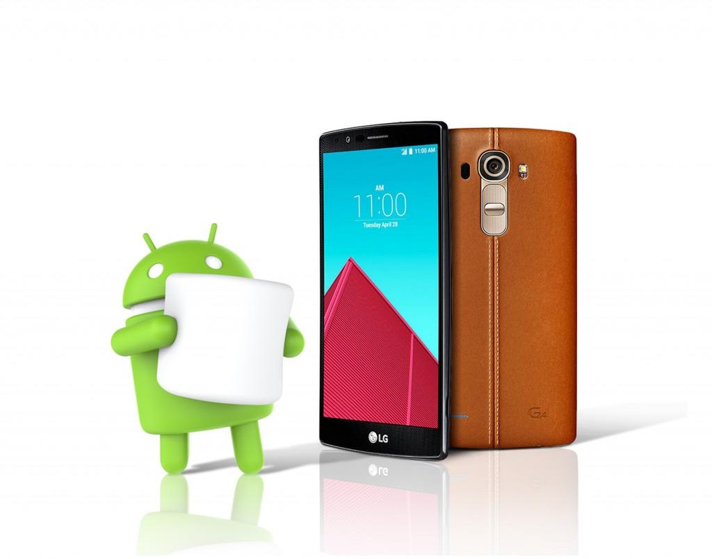 LG начнет обновление до Android 6.0 Marshmallow с флагмана