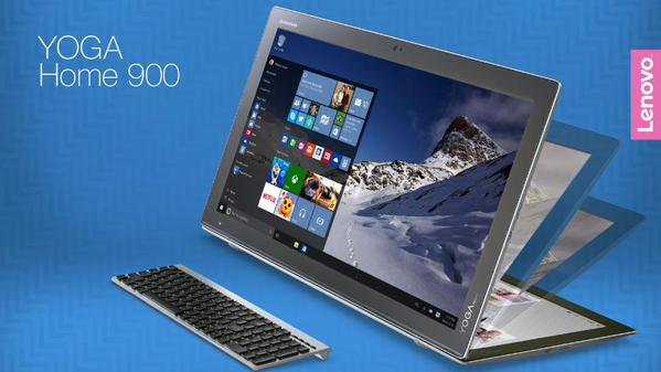 Lenovo представила 27-дюймовый планшет Yoga Home 900 от $1550