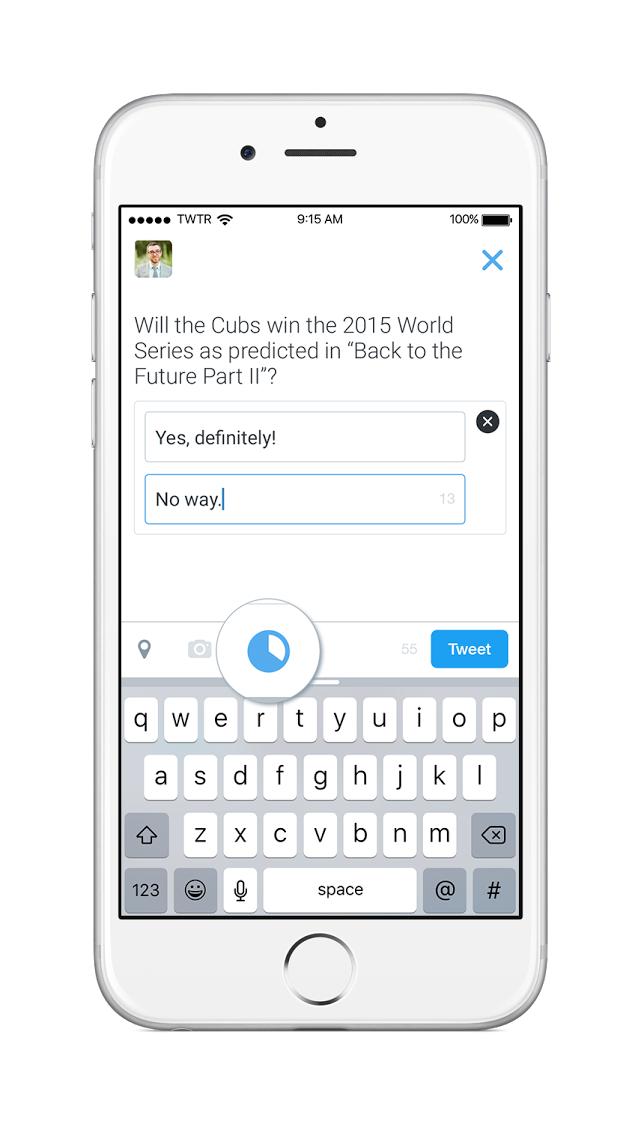 Twitter запустил опросы для всех