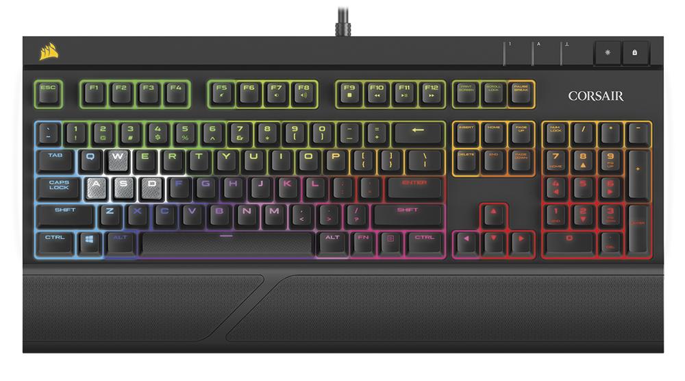 Механическая клавиатура Corsair Strafe RGB Silent получила тихие переключатели