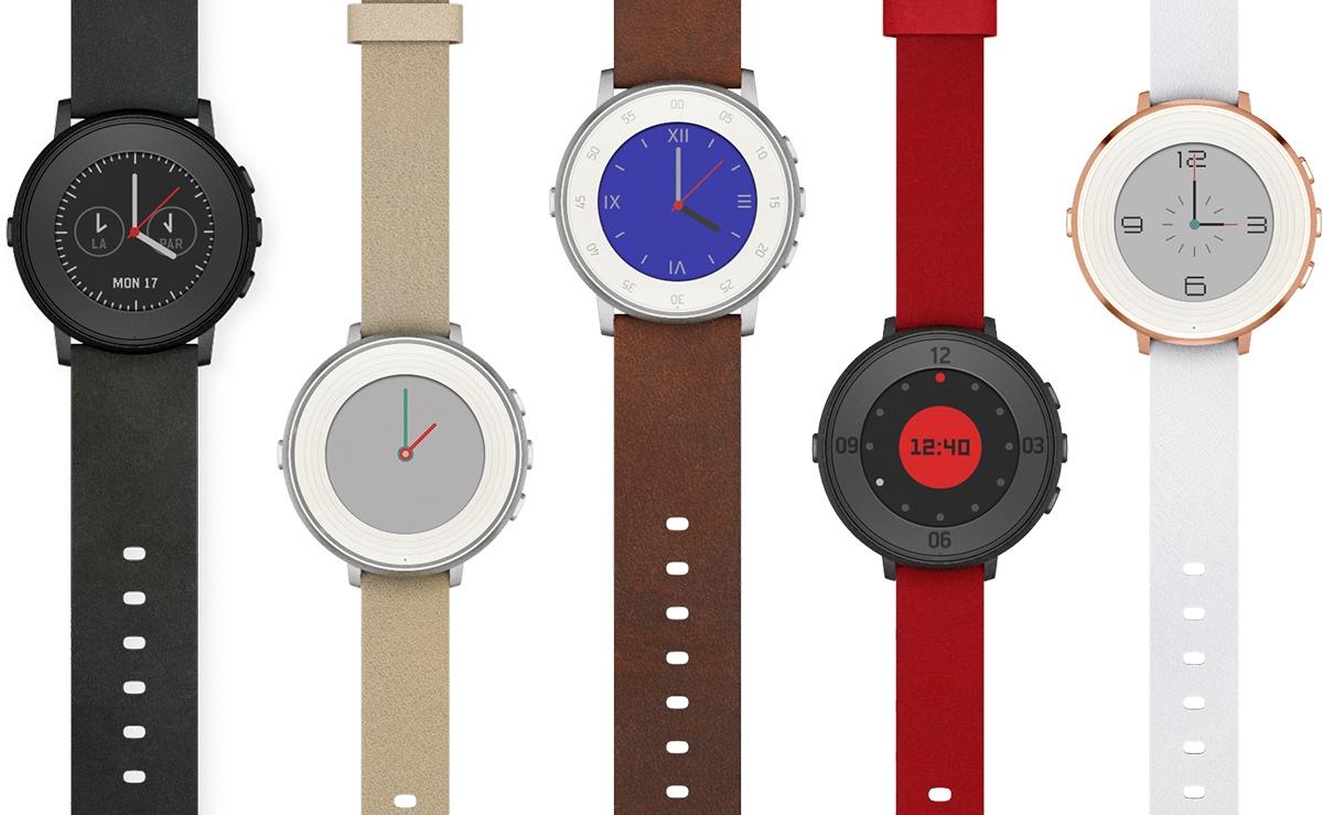 Круглые смарт-часы Pebble Time Round станут доступны 8 ноября
