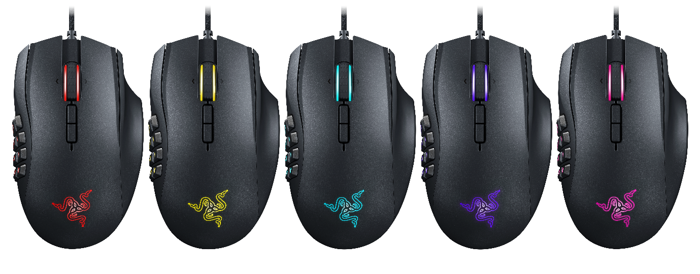 19-кнопочная мышь Razer Naga получила подсветку Chroma
