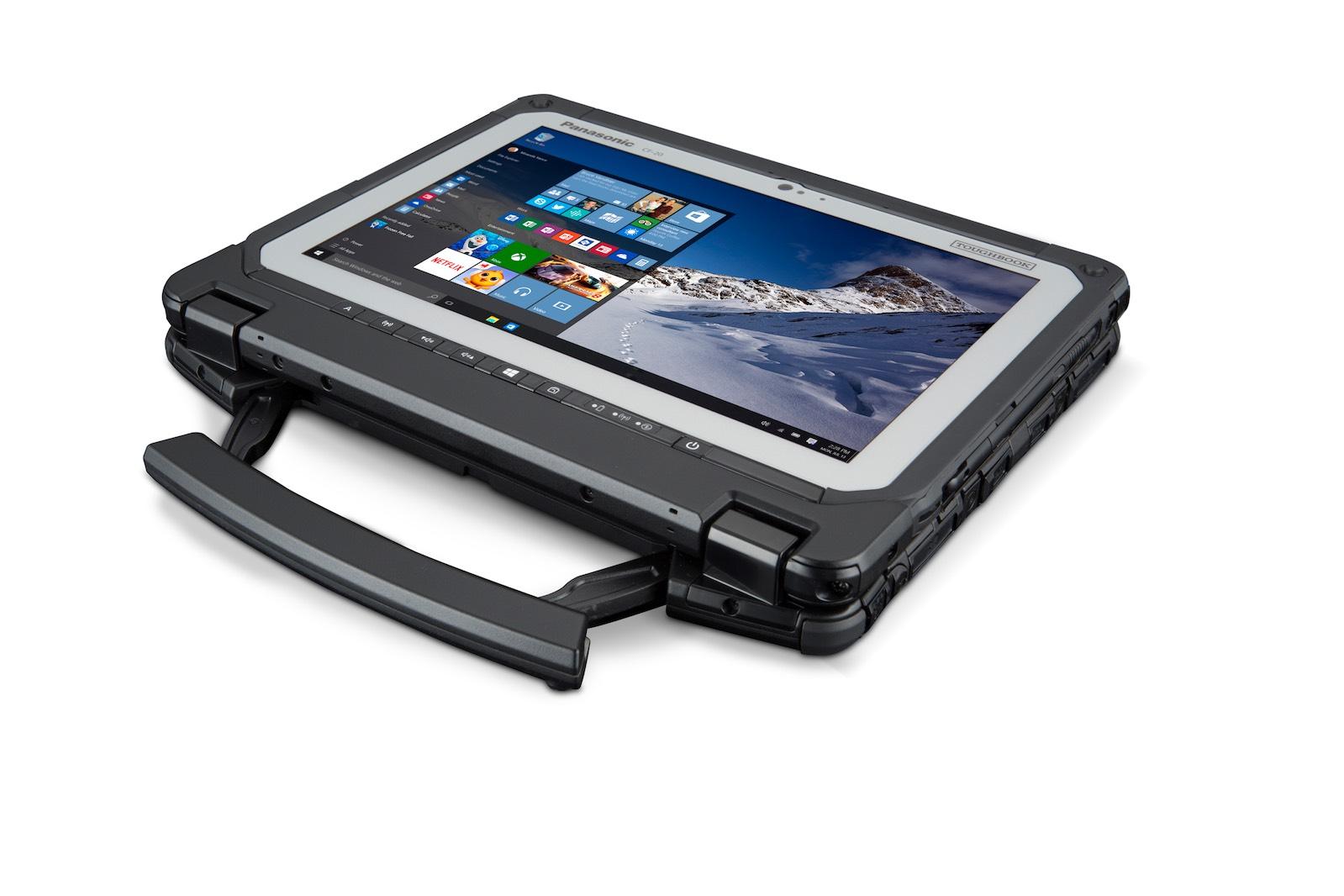 Panasonic представила гибридный защищенный планшет Toughbook CF-20