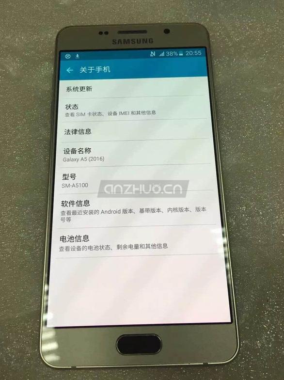 Второе поколение смартфонов Samsung Galaxy A5 и A7 засветилось на фото